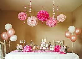 Pink party and shower DIY Decoration party decoration party ideas baby  shower pink party party idea pictures party decoration