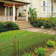 hot ing durable 6063 metal fence