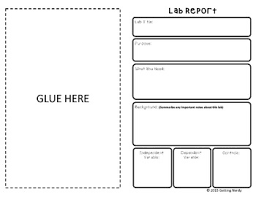 Notebook Templates Lab Report Templates For Interactive Notebook