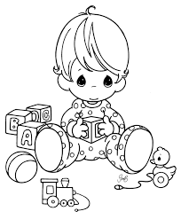 Small Picture Baby Coloring Pages Coloring Pages