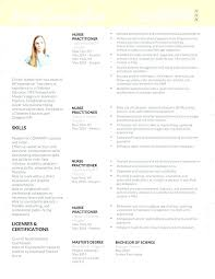 Nurse Practitioner Resume Template Nurse Practitioner Resume ...