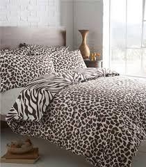 new animal print duvet sets zebra leopard safari