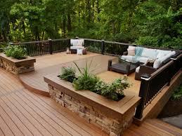 Backyard Deck Design Interesting Decorating Design