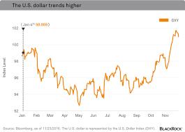 Dollar Appreciation Chart Blackrock How To Play Trumps Rising Dollar Investing