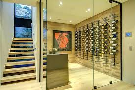 wine cellar glass doors interior wine cellar glass door staircase wooden floor windowpane design wine cellar