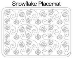 Snowflake Placemat   Anne Bright   Digitized Quilting Designs & Digital Quilting Design Snowflake Placemat by Anne Bright. Adamdwight.com