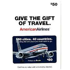 3.9 out of 5 stars. American Airlines Gift Card 50 Gift Cards Schulte S Fresh Foods