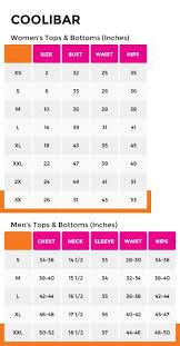Coolibar Size Chart Coolibar Swim Shirt Fitness Hub Shop