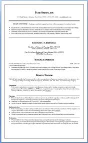 New Nurse Resume Examples Resume Skills Nursing Student Student Gorgeous New Grad Nursing Skills Resume