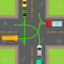 turn driving diagram wiring diagram site turn rules on four way intersection flat illustration road rule driving light wiring diagram turn driving diagram