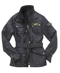 Womens Barbour International Polarquilt Jacket   Barbour's ... & The Barbour International Quilted Jacket is part of the International  Collection – taking inspiration from their motorcycling heritage and  incorporating it ... Adamdwight.com