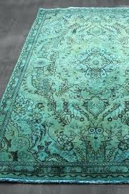 blue green rug contemporary rugs runner