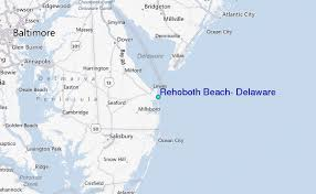 Delaware Beach Tide Chart Rehoboth Beach Delaware Tide Station Location Guide