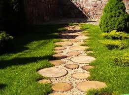 Small Picture Garden path with wood and lawnLOVE THIS In My Yard