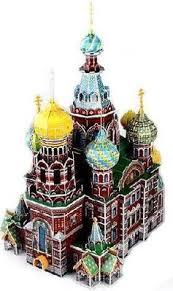 3D пазл <b>CubicFun</b> Россия. <b>Собор Воскресения</b> Христова (MC148h)