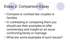 comparison and contrast essay purpose of comparison and contrast  7 essay