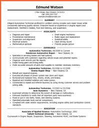 Automotive Technician Resume 100100 Automotive Technician Resume Resumesgood 66