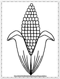 Small Picture Corn On The Cob Coloring Page Bsta Bilder Om It S National Maze