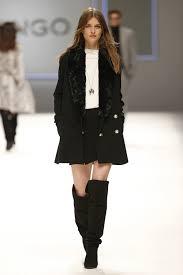 mango womens fall winter 2016 black coat skirt