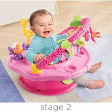 Pink Step 2 Kitchen Summer Infant Island Giggles Deluxe Superseat Girl Walmartcom