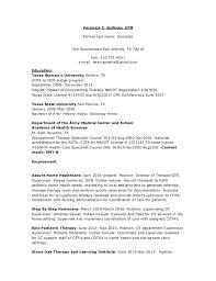 Cota Resumes Kordurmoorddinerco Simple Cota Resume