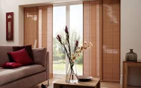 window pictures horizontal curtains door ideas diy glass motorized panel kitchen room treatments bamboo shades treatment