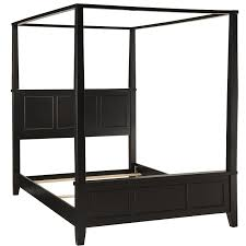Bed Frame Styles amazon home styles bedford canopy bed queen black kitchen 3900 by xevi.us