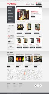 Vending Machine Website Cool Website Templates Food And Drink Vending Machines Supplier Machine