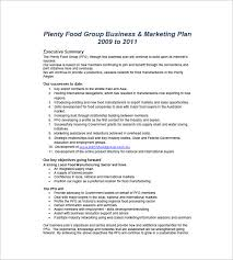 executive business plan template marketing business proposal sample marketing plan template word