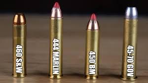 444 Marlin Vs 45 70 Ballistics Chart Big Bore Cartridges Compared Velocity Tests And More 460 S W Vs 444 Marlin Vs 450 Bm Vs 45 70 Govt