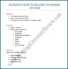 Literature Review Outline Apa Literature Review Outline 296