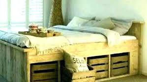 king size pallet bed assemble king size bed frame awesome king size platform bed frame