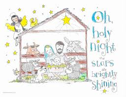 This is the final coloring sheet in our free advent coloring book for children. Nativity Coloring Pages Skip To My Lou