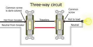 3 way light switch hookup 3 way switch wiring diagram multiple lights at 3 Way Switch Wiring 1 Light