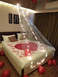 how to decorate bedroom for 1st night