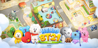 LINE HELLO <b>BT21</b>- Cute bubble-shooting puzzle game! - Apps on ...
