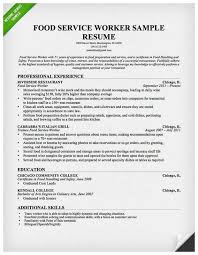 Sample Food Server Resumes 39 Amazing Images Of Food Server Resume Best Of Resume