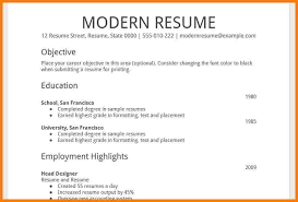 Basic Resume Format Simple Sample Resume Format 28 Idiomax