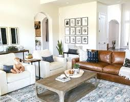 brown leather couch decor living room decorating ideas you ll want to steal asap what color