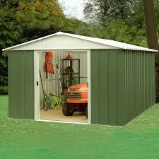 garden sheds. Beautiful Garden Yardmaster 108GEYZ 10x8 Metal Shed To Garden Sheds