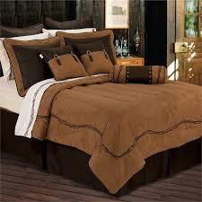 western comforter sets ranch barbwire bedding dark tan 17