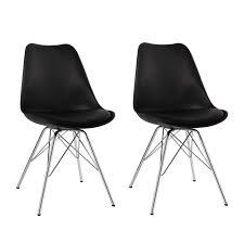 Stuhl Schwarze Beine Neue Fotos Duhome 2er Set