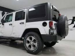 2018 jeep wrangler jk unlimited 4x4 4 door suv sahara white near paris