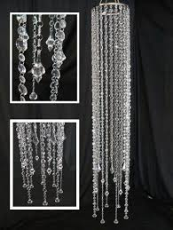 where to find chandelier clear crystal column in santa fe springs