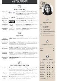 Cv Martina Camarri Architetto Cv Design Cv Ideas And Business Cards