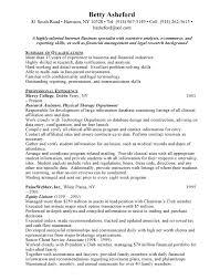 Resume Example Job Objective For Customer Service Resume Resume