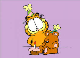 so today is my hero garfield s birthday and i don t know about you but i plan on celebrating by getting stoned as and eating two lasagnas with just