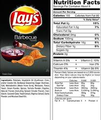 lays barbecue nutrition facts food in 2018 food with regard to nutrition lay s family size original wavy potato chips