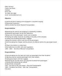 Driver Sample Cv Driver Resume Template 12 Free Word Pdf Document