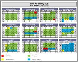 Term Dates – TIMU Academy Trust